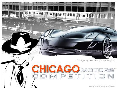 Local Motors Chicago competition poster