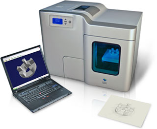 The Desktop Factory 3D printer