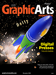 December cover of Graphic Arts Monthly