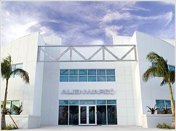 Alienware headquarters in Miami