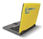 image of personalized branded laptop