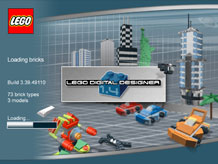 image of LEGO Factory software