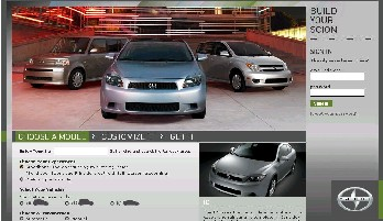 The Scion BYS website