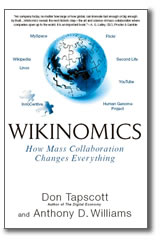 Cover illustration of Wikinomics